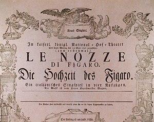 An original poster for Wolfgang Amadeus Mozart...