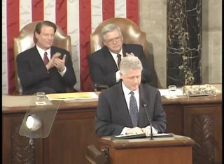 1999 State of the Union Address Address by President Bill Clinton to a joint session of the United States Congress