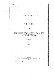 The Acts of the Indian Legislature and of the Governor General for the year 1922.pdf