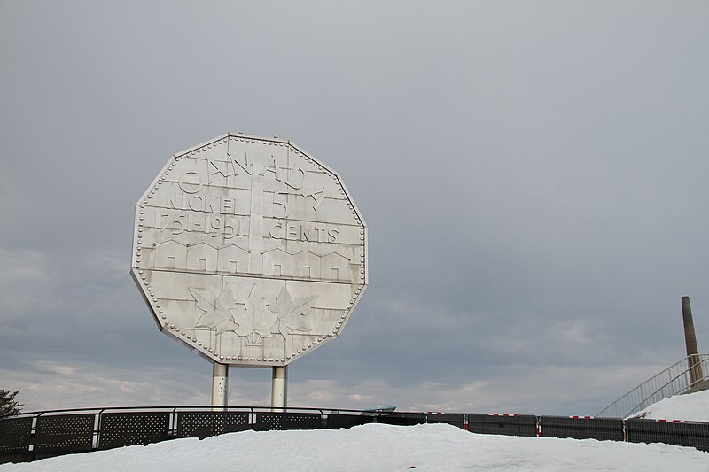 The Big Nickel, Sudbury, Ontario, March 2020