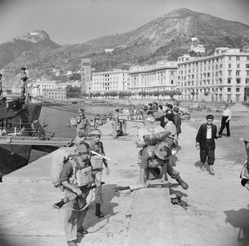 The British Army in Italy 1943 NA6792