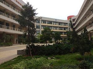 Huaqiao University - The Building of Teaching in Huaqiao University Xiamen Campus