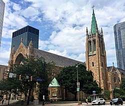The Cathedral of St. John the Evangelist, Cleveland, OH (28812510167) cropped.jpg