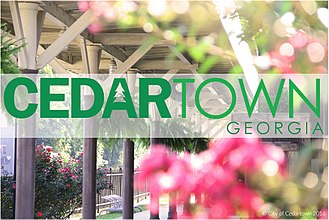 Cedartown, Georgia - The Cedartown Depot and Welcome Center. The Depot serves as one of the trailheads for the Silver Comet Trail
