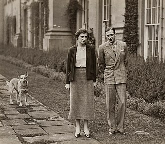 Princess Marina of Greece and Denmark - The Duke and Duchess of Kent in 1934