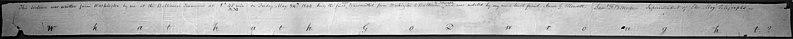 El primer telegrama enviado por Samuel Morse, en 1844.