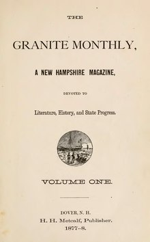 The Granite Monthly Volume 1.djvu
