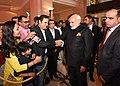 The Indian community enthusiastically welcomes the Prime Minister, Shri Narendra Modi to Amman, Jordan on February 09, 2018.jpg