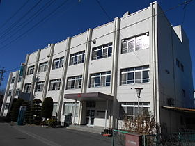The Japanese Red Cross Society Suwa School of Nursing.JPG