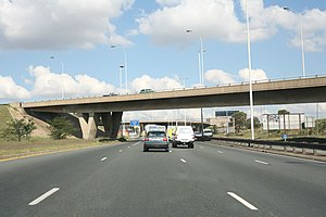 The M2 in Johannesburg
