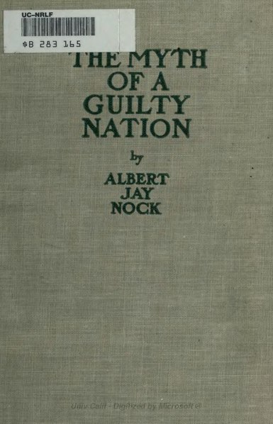 File:The Myth of a Guilty Nation.djvu