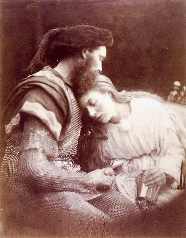 The Parting of Sir Lancelot and Queen Guinevere, by Julia Margaret Cameron