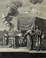 The Phillip Medhurst Picture Torah 501. The tabernacle set up. Exodus 40. Caspar Luyken.jpg