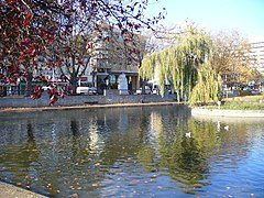 The Pond, Feltham - geograph.org.uk - 605347.jpg
