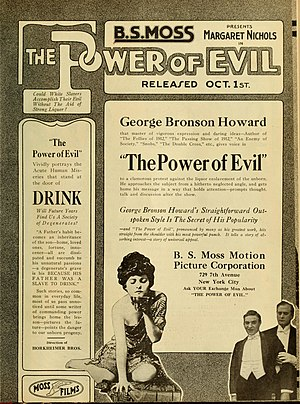 Marguerite Nichols - The Power of Evil (1916)