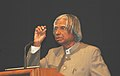 The President, Dr. A.P.J. Abdul Kalam addressing the gathering on the occasion of the World AIDS Day, in New Delhi on December 01, 2006.jpg