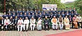 The President, Shri Ram Nath Kovind in a group photograph, at the 4th Dr. Ram Manohar Lohia Memorial Lecture, at ITM University, Gwalior, Madhya Pradesh (1).jpg