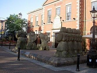 Preston Strike of 1842 - The Preston Martyrs Memorial, Lune Street