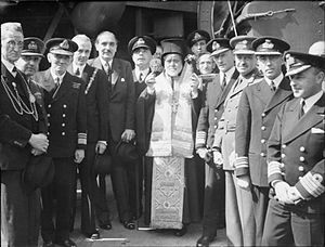 Greece–United Kingdom relations - Meeting of the Royal Navy and the Royal Hellenic Navy during the Second World War