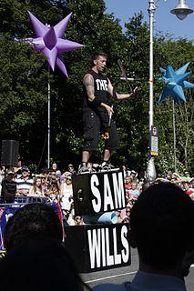 Sam Wills New Zealand comedian