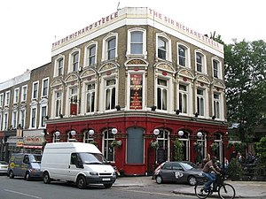 Sir Richard Steele (public house) - The Sir Richard Steele