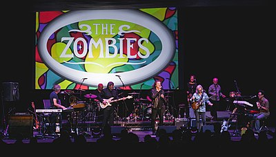 Picture of a band or musician: The Zombies