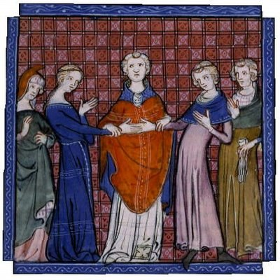 The betrothal of Alphonso of Castile and Eleanor Plantagenet