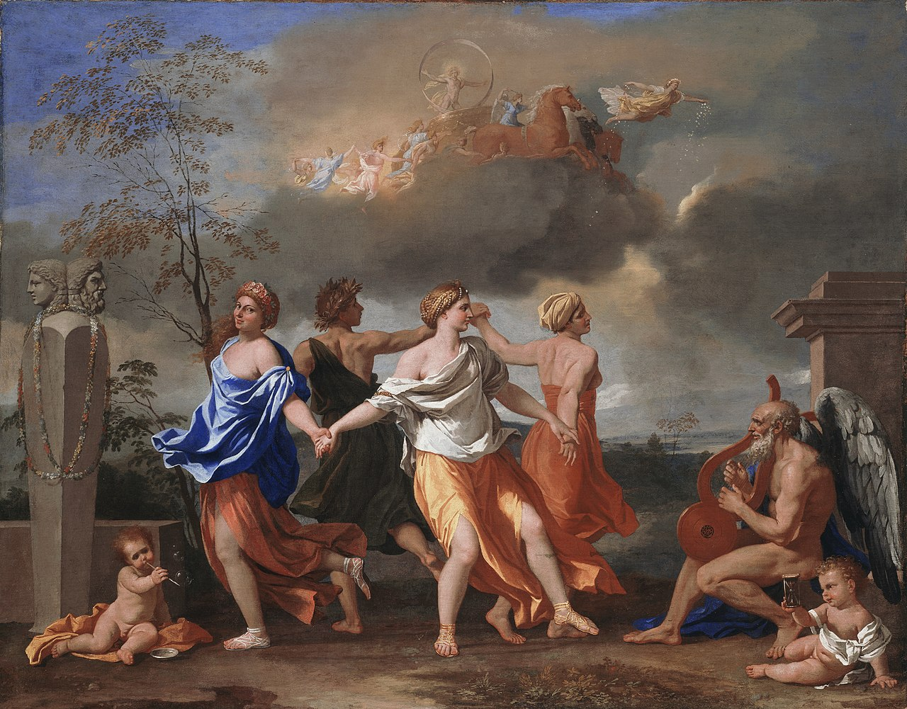 A Dance to the Music of Time by Nicolas Poussin