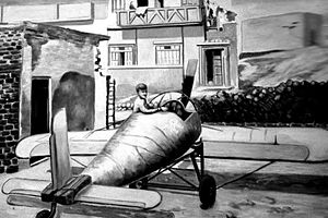 The first airplane of the Arab World in 1958 by Syrian inventor Abdullah Al-Ahmad.jpg