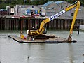 The floating digger - geograph.org.uk - 889697.jpg