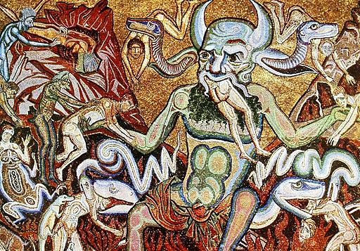 The hell mosaic coppo di marcovaldo baptisterium florence