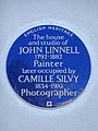 The house and studio of JOHN LINNELL 1792-1882 Painter later occupied by CAMILLE SILVY 1834-1910 Photographer.jpg