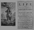 The life and Strange Surprizing Adventures of Robinson Crosoe, London, 1719.png