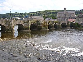 The old bridge, Carrick on Suir, Co. Tipperary - geograph.org.uk - 206939.jpg