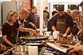 The post meeting activity for Open EdTech 2009 was a cooking lesson at Cook and Taste http-www.cookandtaste.net- (4031060391).jpg