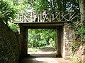 The way to the lakeside walks, Ugbrooke Park - geograph.org.uk - 1364090.jpg