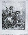 Theodore Schaepkens, Jeanne d'Arc te paard.jpg