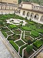 This is a geometrical garden made by king jay Singh.he was a greet astrologer and astronomer he made five open air observatory in different part in India. - panoramio.jpg