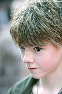 Thomas Brodie-Sangster at the London premiere of the film Stormbreaker on 17 July 2006