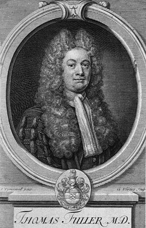 Thomas Fuller (writer) - Image: Thomas Fuller b 1654