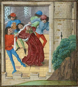 Thomas of Woodstock, 1st Duke of Gloucester - Murder of Thomas of Woodstock.