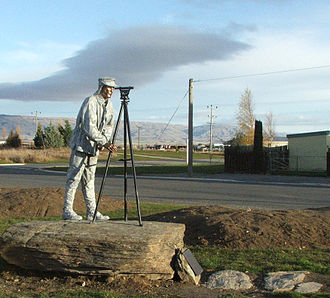 John Turnbull Thomson - Thomson memorial in Ranfurly, New Zealand