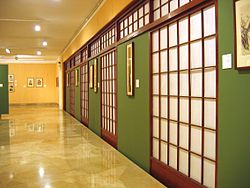 Tikotin Museum of Japanese Art, Haifa, Israel - Showroom Wall, -2.jpg