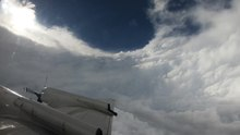 File:Time-lapse video of a -NOAA Hurricane Hunter WP-3D Orion (-NOAA42) flight int....webm