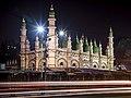Tipu Sultan Mosque Dharmatala at Night.jpg