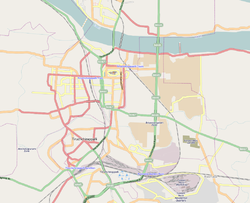 Golden Rock zone in Tiruchirappalli map