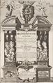 Titelblad till boken metamorfoser, 1651 - Skoklosters slott - 99891.tif