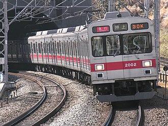 Tokyu Corporation - Image: Tokyu Series 2000