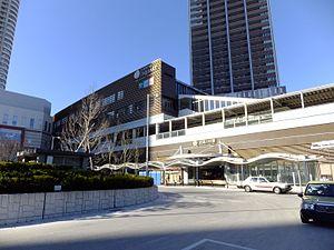 Musashi-Kosugi Station - Tokyu Musashi-Kosugi main entrance