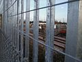 Tolworth station timber yard look north.JPG